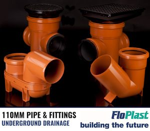 Floplast 110mm Pipe & Fittings