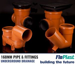 Floplast 160mm Pipe & Fittings