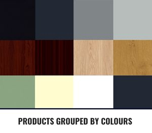 Products Grouped By Colours